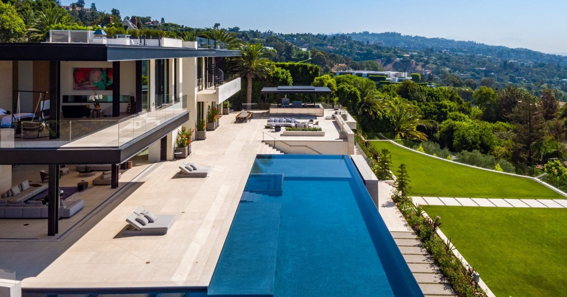 Celebrity surgeon went 'all in' on 180 million Bel Air