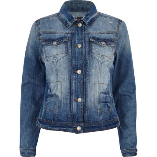 Denim jacket...want this!