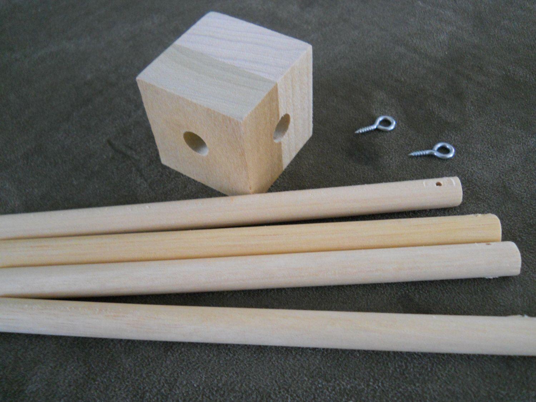 Baby Mobile Wood Frame Crib Mobile Mobile Frame Diy Listing