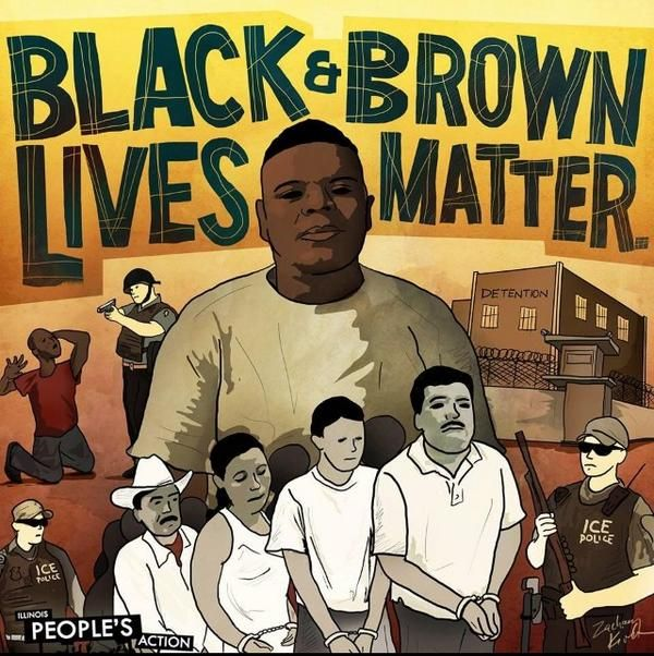 Black And Brown Lives Matter March For Justice Amp Racial Unity Black Lives Matter Art Lives Matter Black And Brown