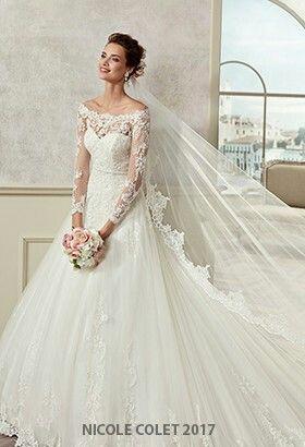 Pin De Veronica Mosquera En Idee Matrimonio Wedding Ideas Vestidos De Novia De Invierno Vestidos De Novia Grandes Vestidos De Novia