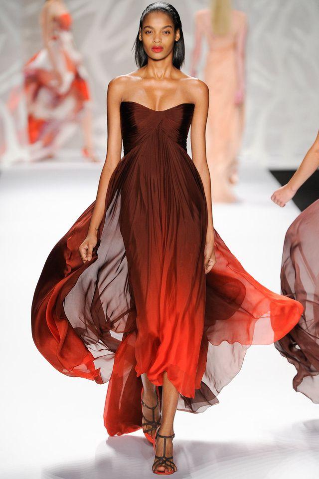 Monique Lhuillier Fashion Week 2014 NYC Amazing dress
