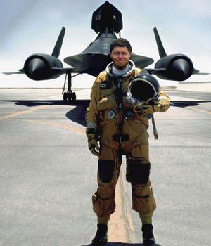 SR71 Blackbird. Mach 3.5 stuff.