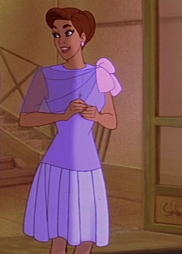 Princess Anastasia's pink dress when she went shopping in ... Lila Costume