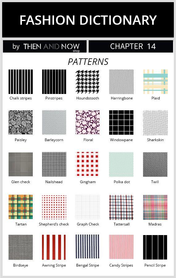 Types Of Patterns Amp Prints Guide Poradniki Kolory I Wzory