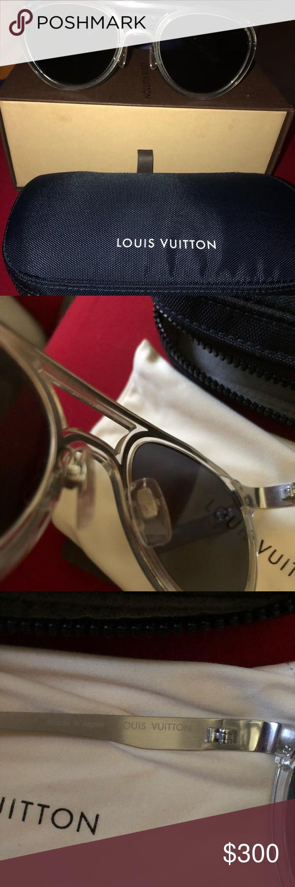 03e730dc05eb Louis Vuitton Mens Small Aviator Sunglasses Small Aviator Mens sunglasses
