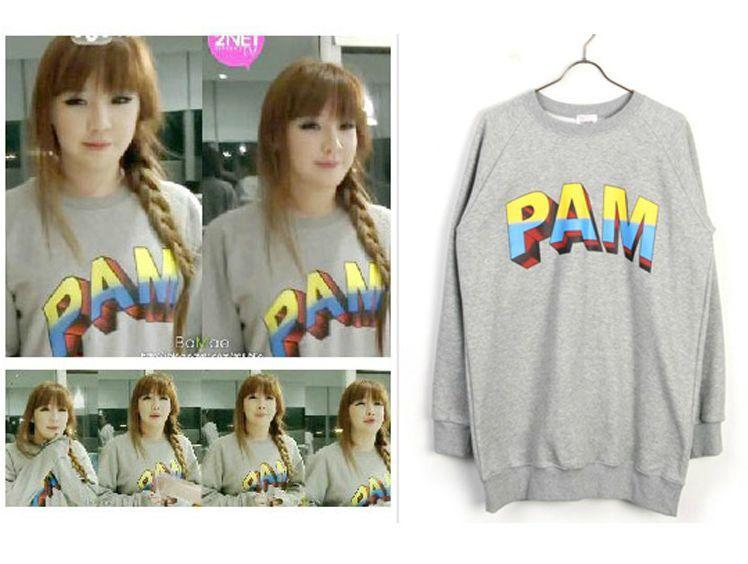 Kpop PAM Park Bom 2NE1 T-shirt Long-sleeved sweatshirt Youth Art Urban (Ds13) - $29.89 + $5.00 shipping