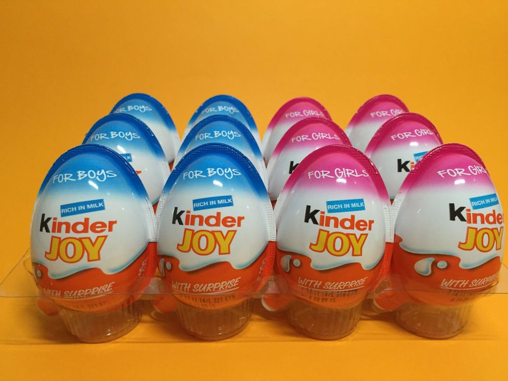 kinder chocolate choose 10 x boys or gift