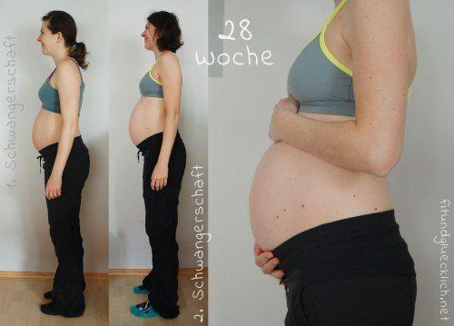Bauchbilder Schwangerschaft