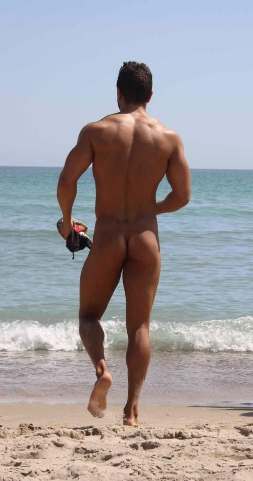 Naked Dudes On Beach