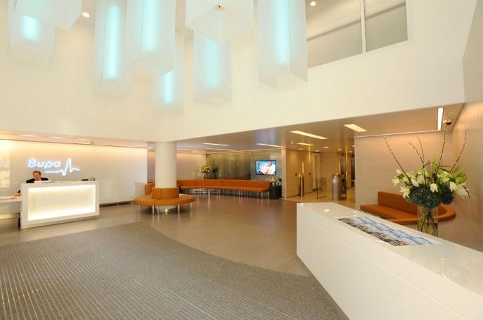 paul nulty lighting design bupa headquarters london