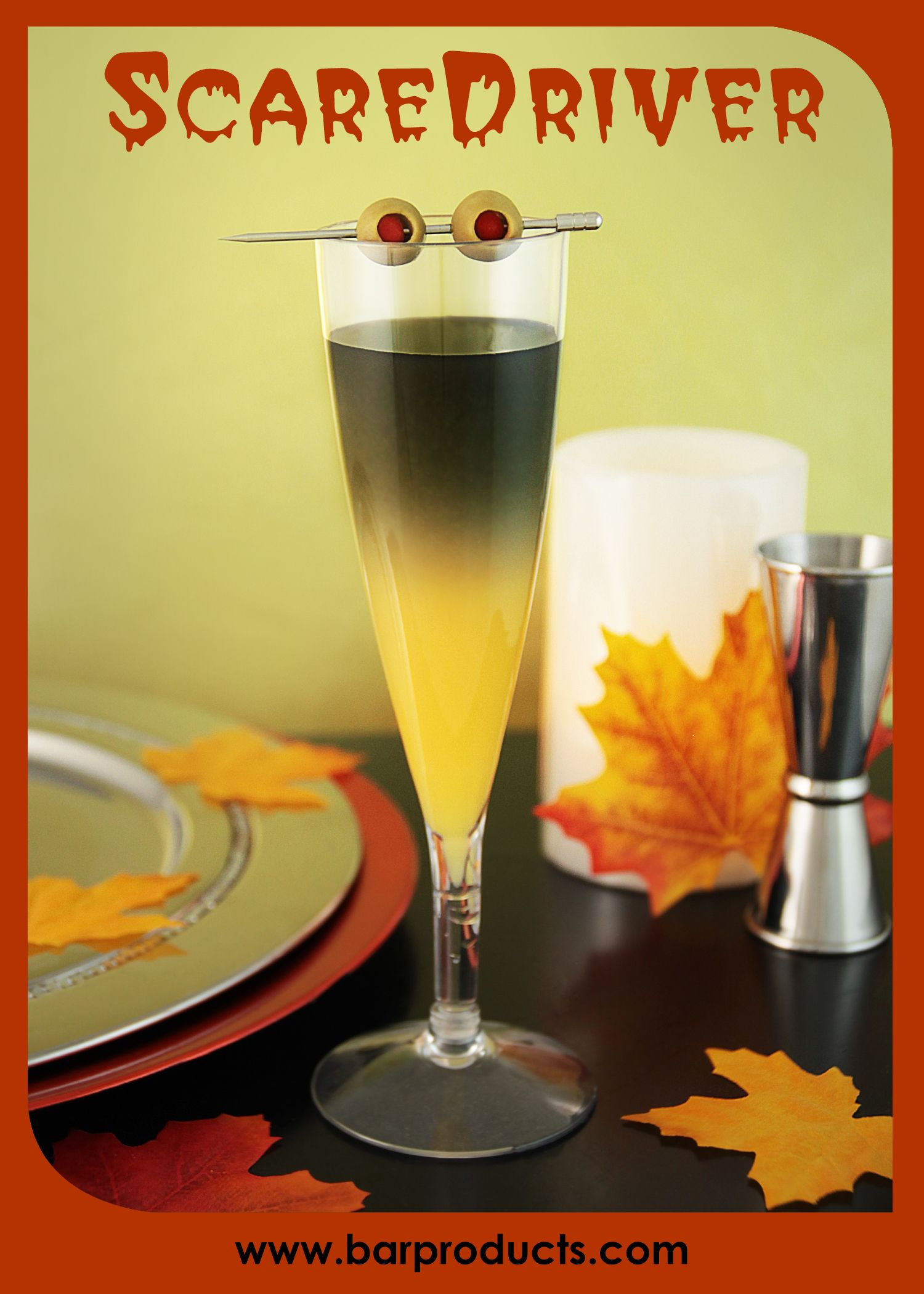 Are You Screaming For A Little Vitamin C This Season This Halloween Serve Up A Little Black Magic With Our Scaredr Drinking Party Brunch Cocktails Fun Drinks