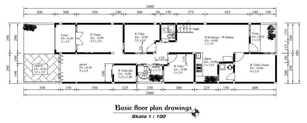 Minimalist House Plans Basic Floor Plan Drawings Floor Plans