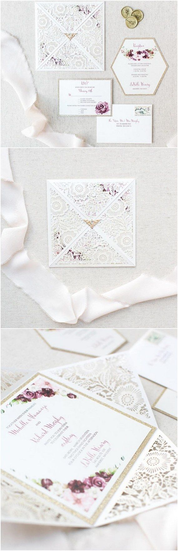 Top 10 Wedding Invitations from Etsy for 2018 | Wedding invitation ...