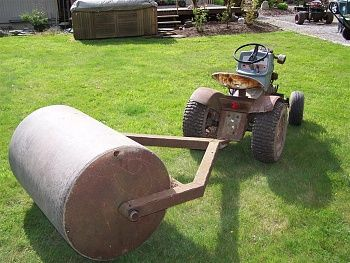 Home Made Lawn Rollers Mytractorforum Com The Friendliest