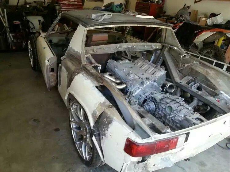 Ls Swap Engine Porsche 914 Cooling System Find Cars Stuttgart