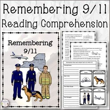 Remembering 9/11 Reading Comprehension   Reading ...