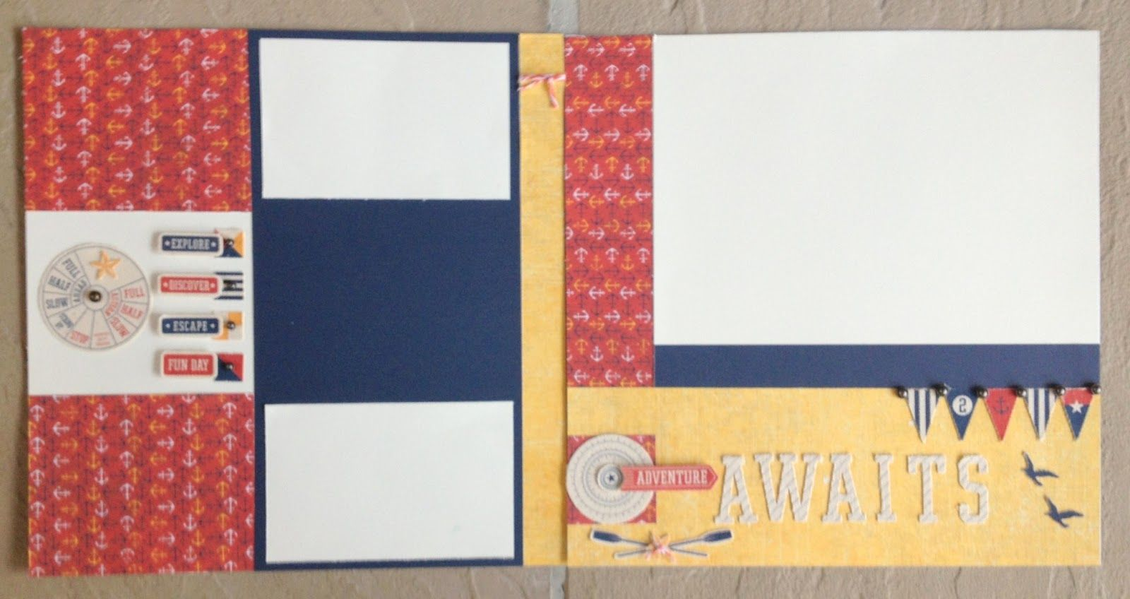 layout by Traci Pasqualone using CTMH Tommy paper
