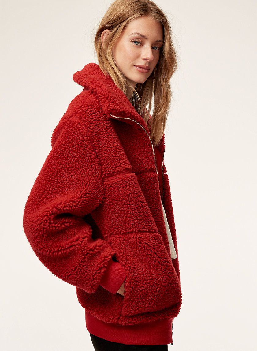 355431bc0eb64 Wilfred Free THE TEDDY JACKET