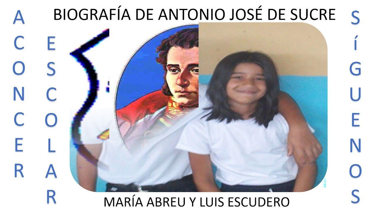 Biografia De Antonio Jose De Sucre Biografia Pepito Generaciones