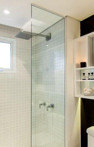 Imagens Banheiro Sob Medida : Box com vidro fixo pesquisa google minha casa