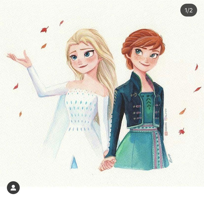 Pin De Llitastar En Princesa Ana Y Reina Elsa Fotos De Princesas Disney Dibujos De Frozen Princesas Disney