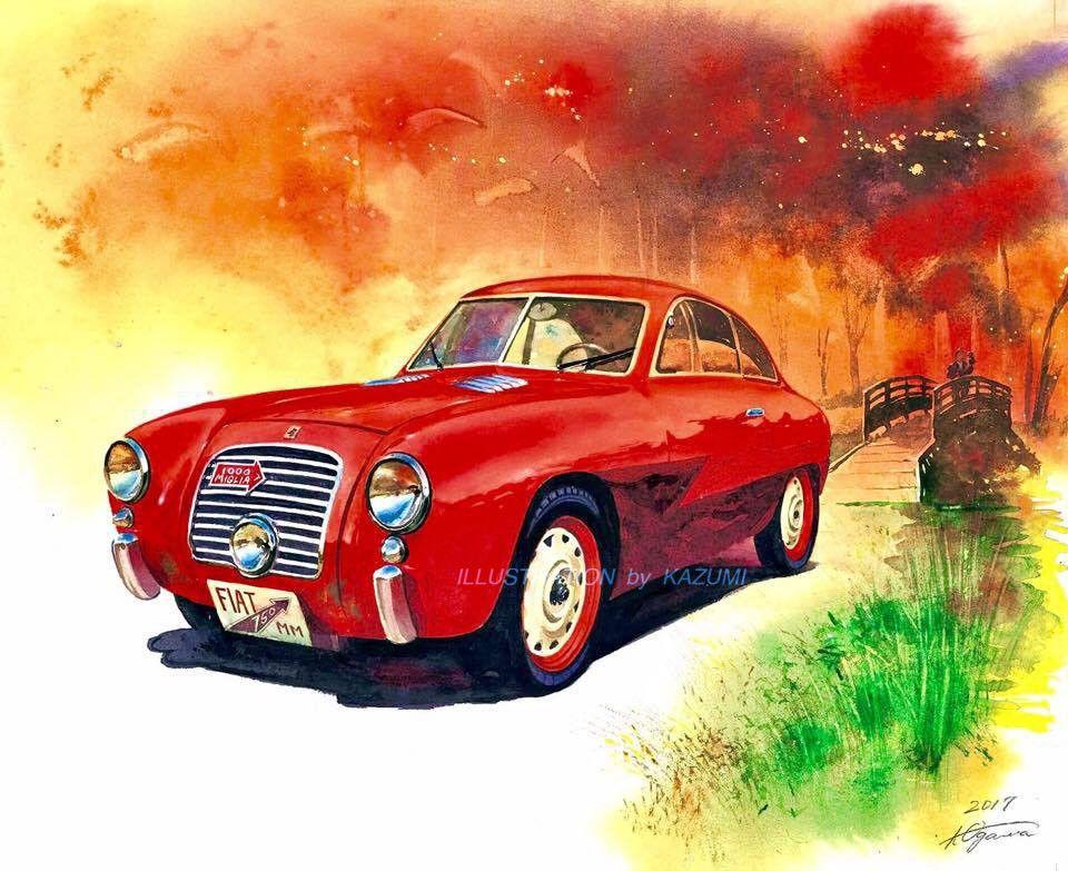 Gallery Automobile 1 Kazumi Art Works 2020 車 イラスト イラスト イラストアート