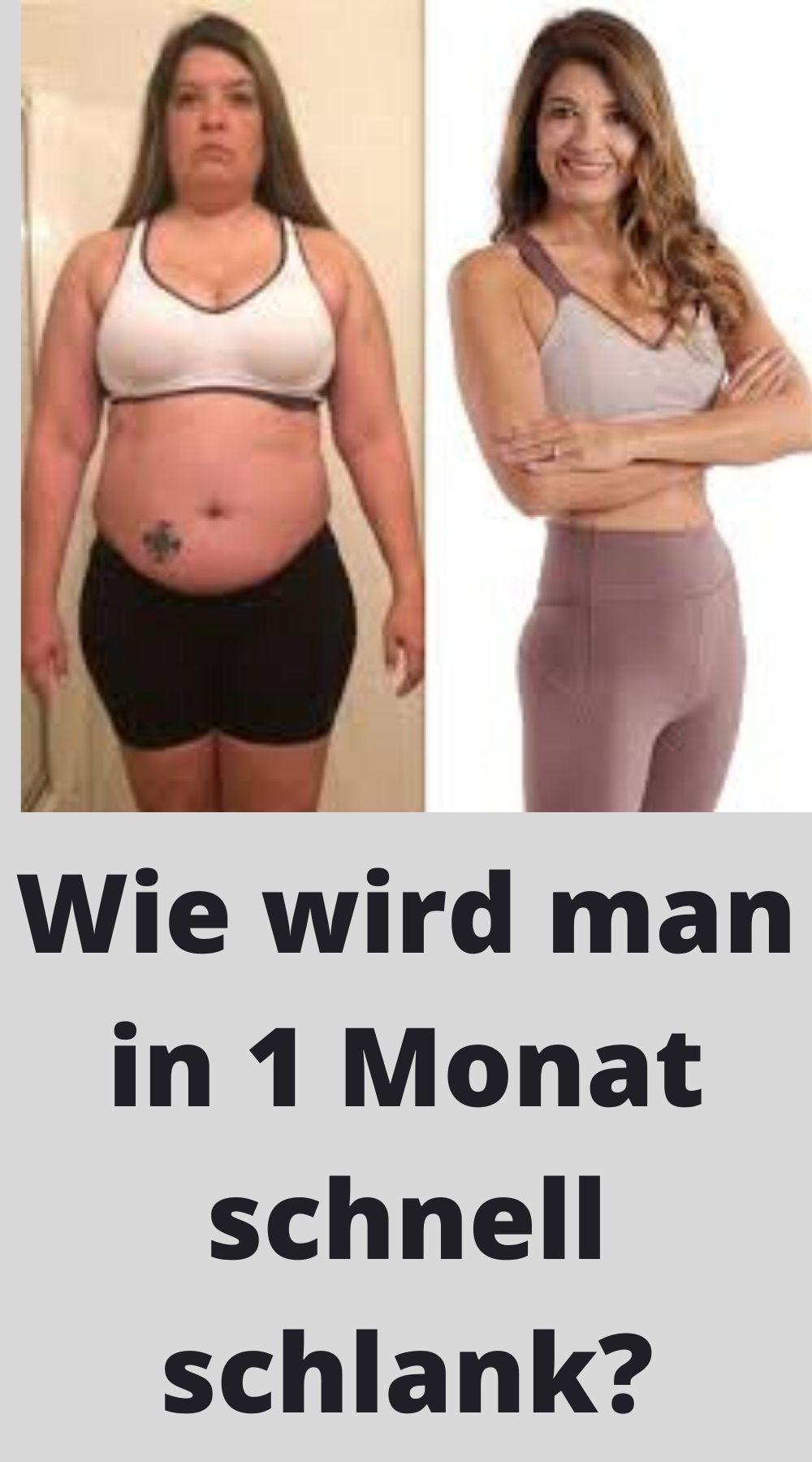 wie viel fett in 1 monat abnehmen