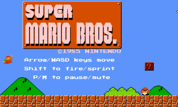 Play Super Mario Bros Online With A Html5 Browser Port With Level Designer Mario Opensource Newmario Super Mario Bros Mario Bros Super Mario