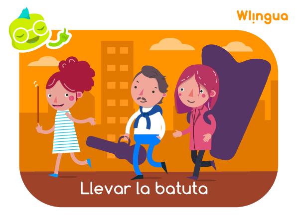 La Expresión Llevar La Batuta Significa Dirigir O Tener El Control De Algo Learn Spanish Online Learning Spanish Learning