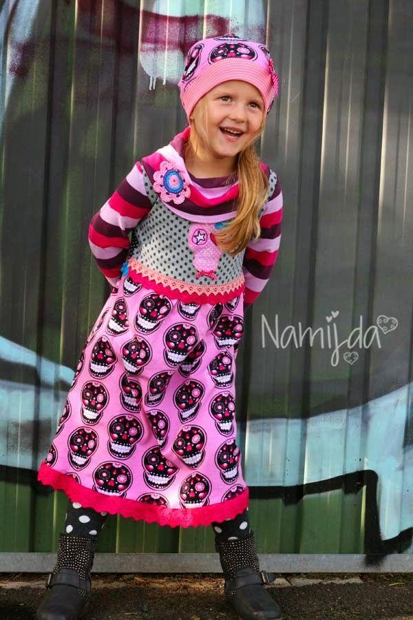 lillesol & pelle Schnittmuster/ Pattern: Kleid mit Rollkragen | Muss ...