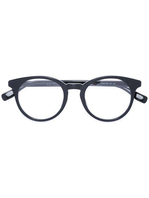 4047e121 Boss Hugo Boss round shaped glasses Designer colour: 807 Made in Italy  Designer Style ID: BOSS0681 Farfetch ID: 11899704