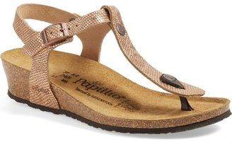 T 'ashley' Papillio Wedge Sandal By Birkenstock Strap N0vnwO8m