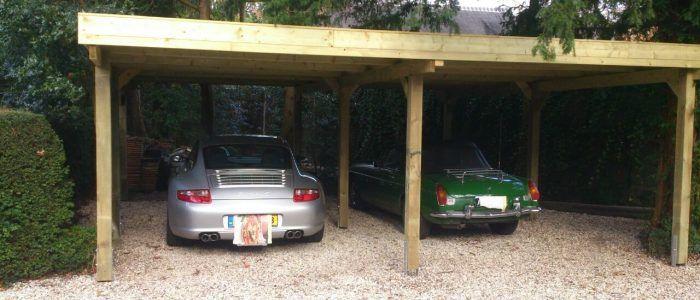 carports van hout houten carports verkopen wij online tegen zeer scherpe prijzen in alle soorten en maten of het nu een carport voor 1 of meerdere autos