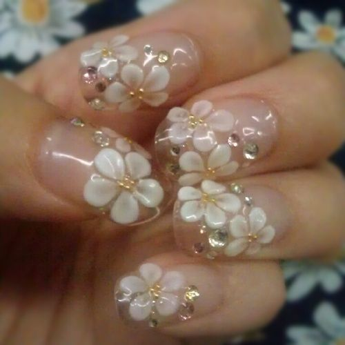 3d Nail Art Tumblr Nail Art Pinterest 3d Nail Nail And Make Up