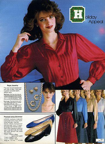 1982-xx-xx Sears Christmas Catalog P077 in 2019 | 1980s fashion
