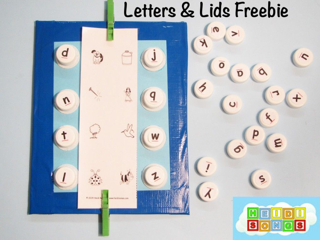 Flags Amp Tags Letter Sounds Learning Center Freebie
