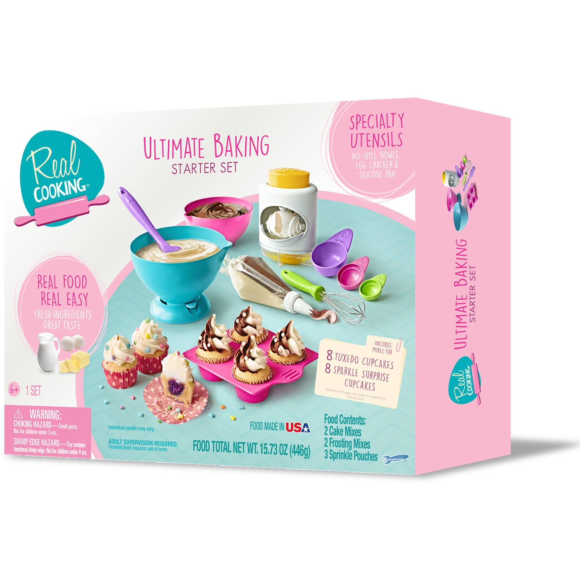 Real Cooking Ultimate Baking Starter Set | Products | Pinterest ...