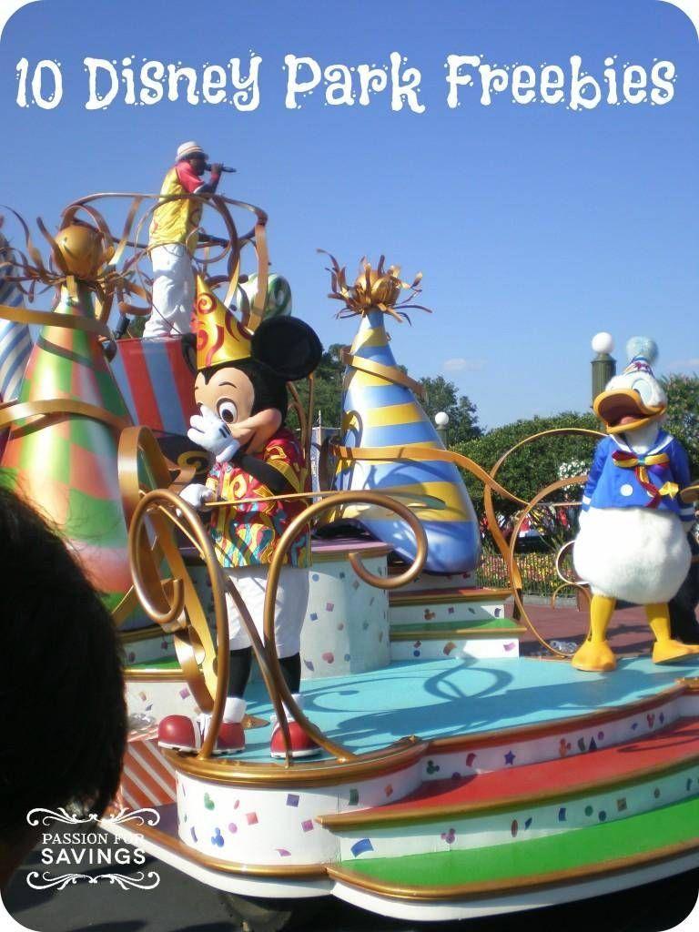 disney park freebies Disney fun, Disney vacation