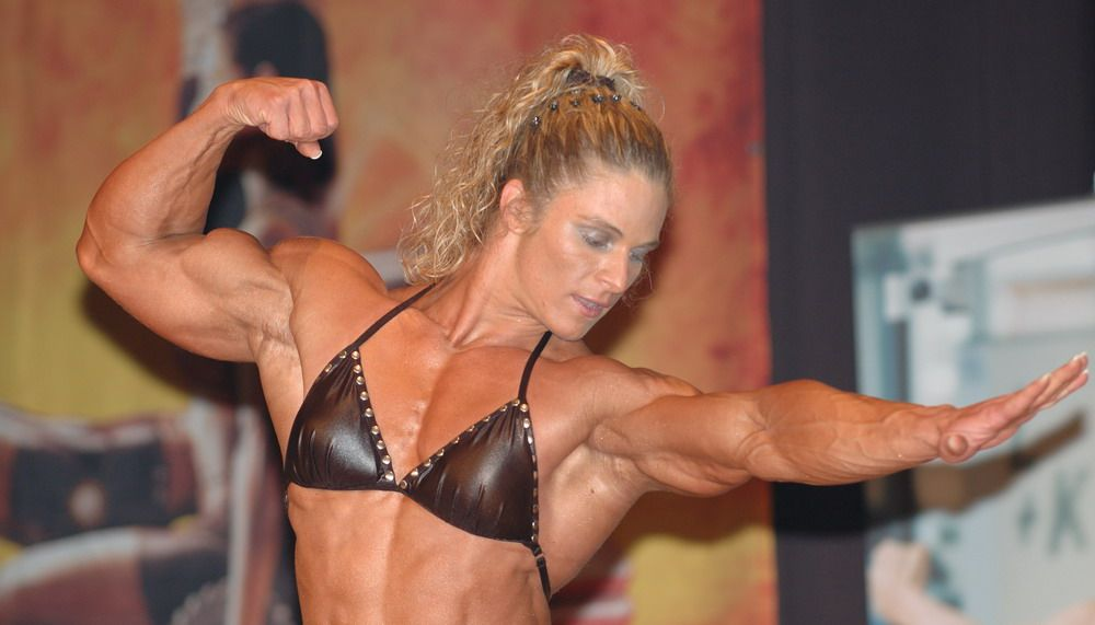 #3 - Cornelia Brandt #female #muscle | That Muscle Show's