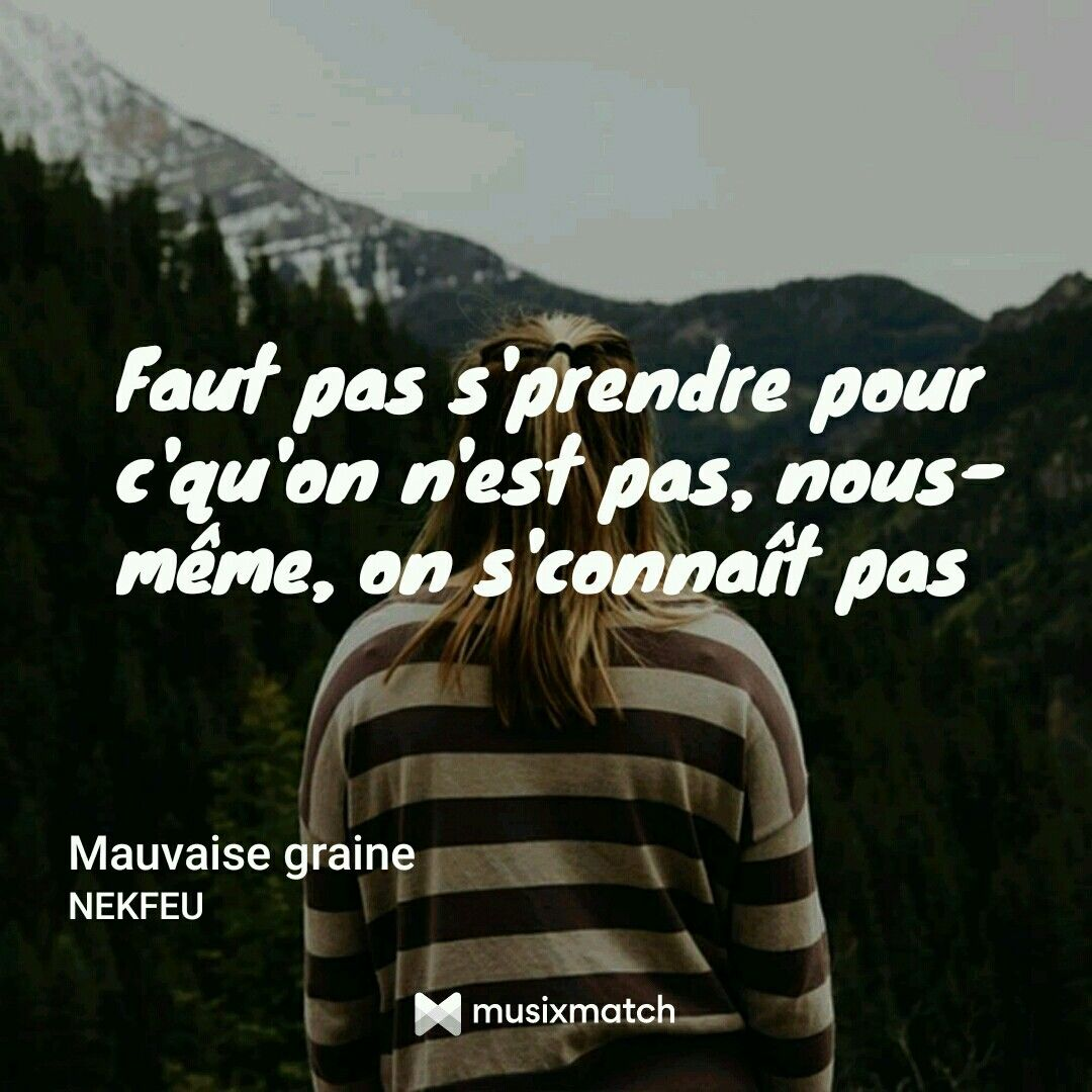 Rap Quotes About Friendship Mauvaise Graine  Gnéé  Pinterest  Rap Quotes