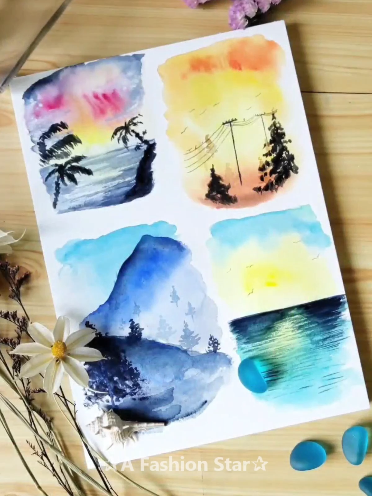 Are You Looking For Easy And Beautiful Watercolor Painting Watercolor Painting Always Presents Beautiful Scenery We Watercolor Paintings Watercolor Drawings