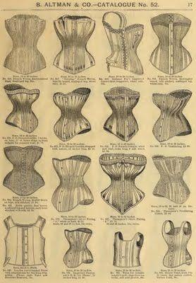 1886 b altman  co catalog  reform corsets  victorian