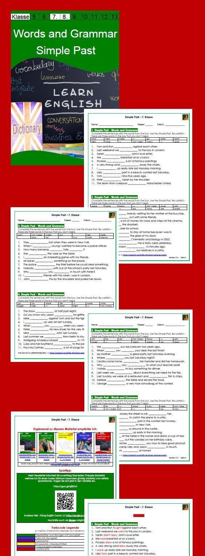 Words / Vocabulary and Grammar - Vokabel- und Grammatiktest zum ...