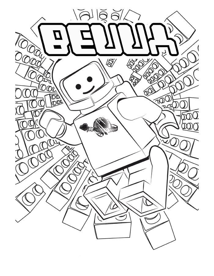 Lego Ausmalbilder. Malvorlagen Zeichnung druckbare nº 1 | wand ideen ...