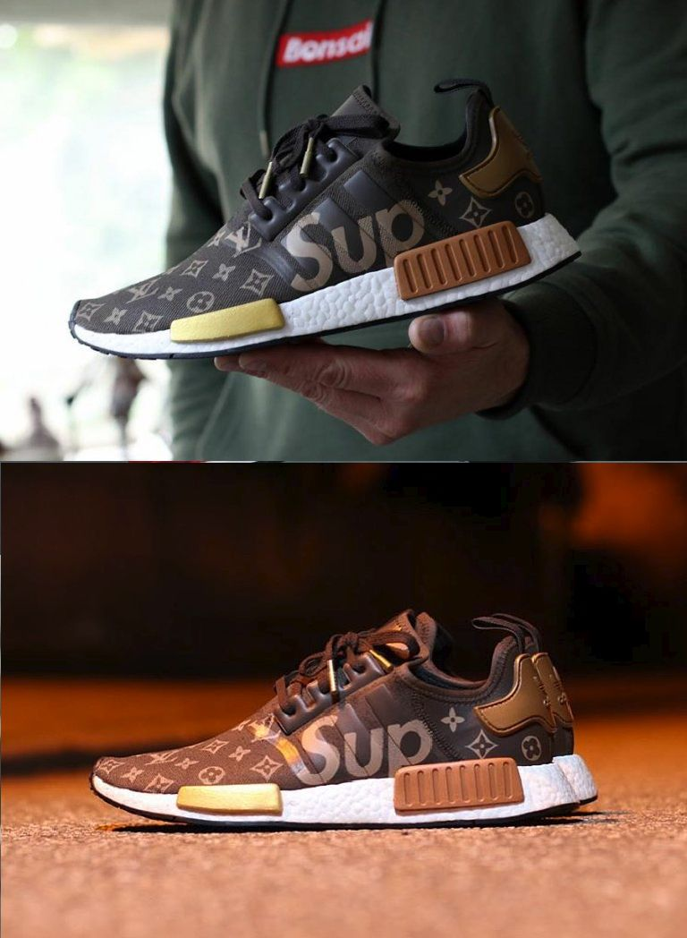 0519adc216f72 Supreme x Louis Vuitton NMD The adidas NMD R1 is arguably the most popular  sneaker silhouette from  the brand with three stripes