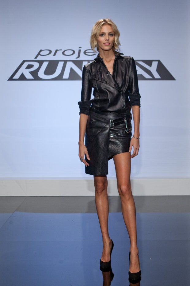 Anja Rubik - Anthony Vaccarello