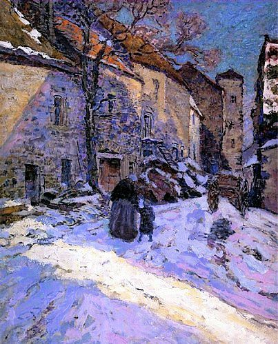 Victor Charreton 1864 1936 Konst Akvareller Malningar