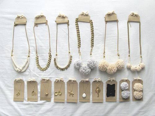 Great, simple jewelry packaging