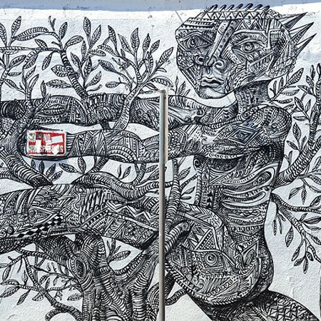 Le street-art de Zio Ziegler !